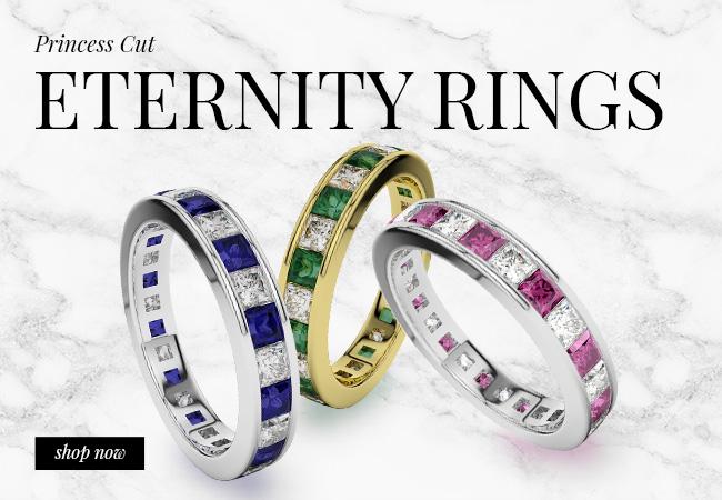 Princess Eternity Rings