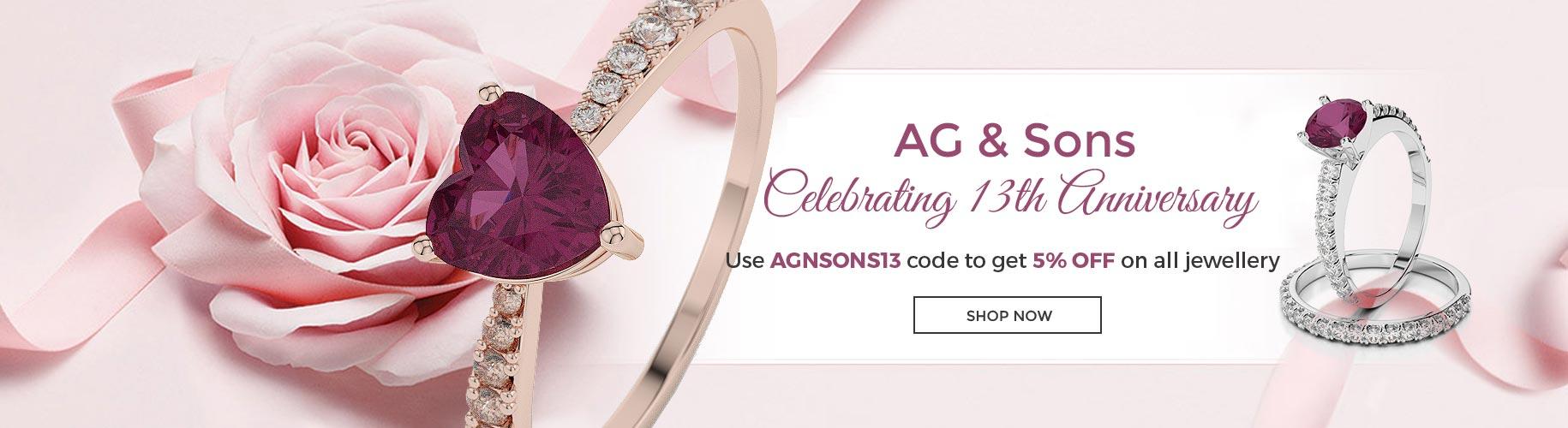 Agnsons Anniversary Offer