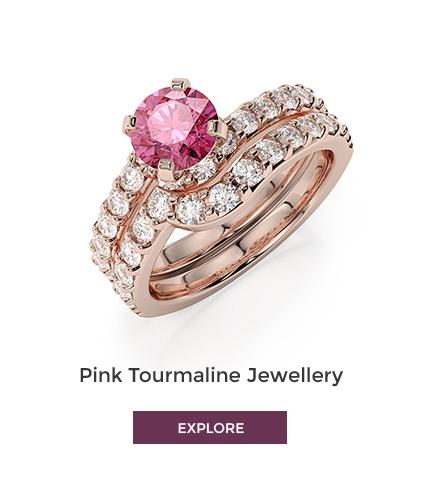 Pink Tourmaline Jewellery