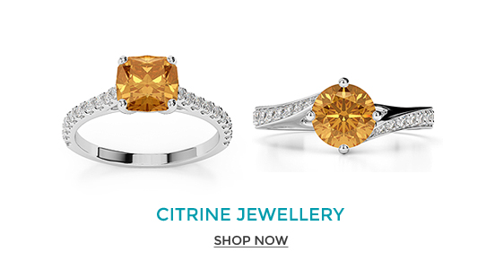 Citrine Engagement Rings