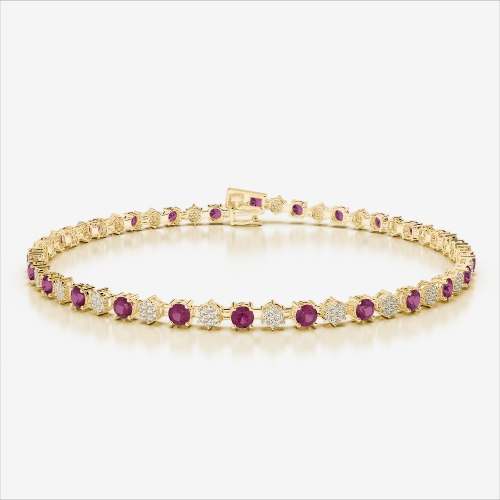 fine ruby sara taseer akoya royale jewellery bracelet collections