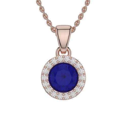 Blue Sapphire Necklaces