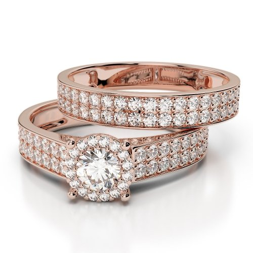Diamond Bridal Set Rings