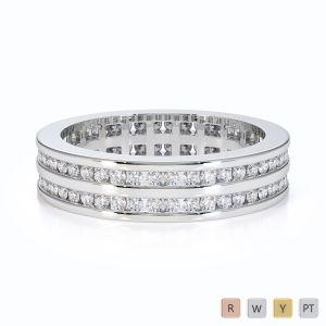 Gold / Platinum Diamond Full Eternity Ring RZ1502